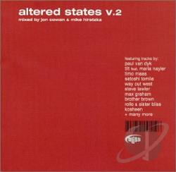Cowan, Jon / Hiraztka, Mike - Altered States, Vol. 2 CD Cover Art