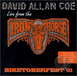 Coe, David Allan - Live at the Iron Horse Saloon CD Cover Art