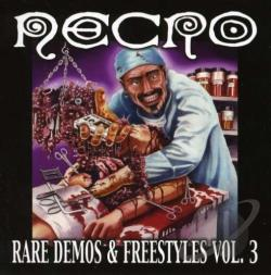 Necro - Rare Demos and Freestyles, Vol. 3 CD Cover Art
