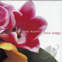 Warwick, Dionne - Love Songs CD Cover Art