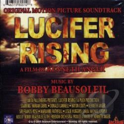 O.S.T. Kevin Anger's Lucifer Rising - Lucifer Rising CD Cover Art