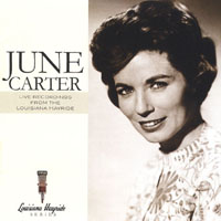 Cash, June Carter - Live Recordings from the Louisiana Hayride CD Cover Art