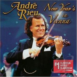 Rieu, Andre - New Year's in Vienna CD Cover Art