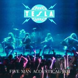 Tesla - Five Man Acoustical Jam CD Cover Art