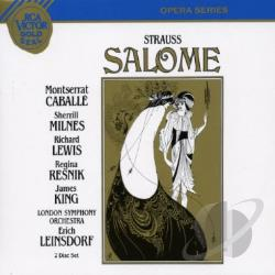 Strauss / Caballe / Milnes / Lso / Leinsdorf - Gold Seal - Strauss: Salome / Leinsdorf, Caball�, Et Al CD Cover Art