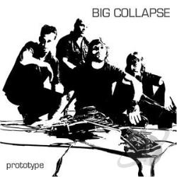 Big Collapse - Prototype CD Cover Art