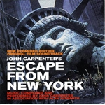 Alan Howarth / Carpenter, John - Escape from New York CD Cover Art