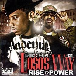 Street Fam - Loso's Way: Rise to Power CD Cover Art