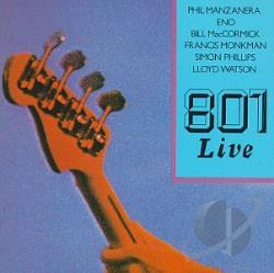 801 - 801 Live CD Cover Art