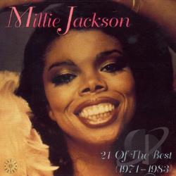 Jackson, Millie - 21 Of The Best CD Cover Art