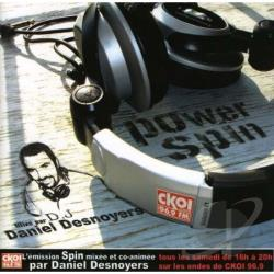 Desnoyers, Daniel - Power Spin, Vol. 1 CD Cover Art
