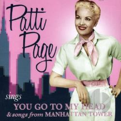 Page, Patti - Sings You Go to My Head & Songs from Manhattan Tower CD Cover Art