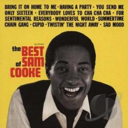 Cooke, Sam - Best of Sam Cooke LP Cover Art