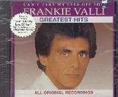 Valli, Frankie - Greatest Hits CD Cover Art
