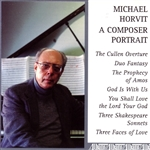 Horvit, Michael - Michael Horvit: A Composer Portrait CD Cover Art