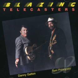 Gatton, Danny / Principato, Tom - Blazing Telecasters CD Cover Art