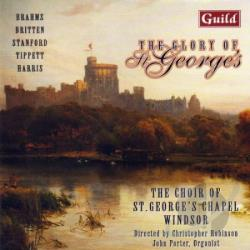 Choir St.Georges Chapel,Windso - Glory Of St.George's CD Cover Art