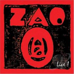 Zao - Live CD Cover Art