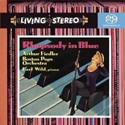 Bosp / Fiedler / Gershwin / Wild - Rhapsody in Blue CD Cover Art