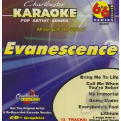 Evanescence - Karaoke: Evanescence CD Cover Art