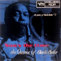 Parker, Charlie - Nows The Time LP Cover Art