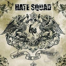 Hate Squad - Deguello Wartunes CD Cover Art