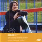 Bloch / Harbison / Sessions / Stinson, Caroline - Lines CD Cover Art