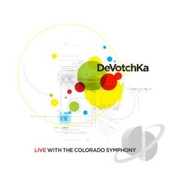 Devotchka - Live with the Colorado Symphony CD Cover Art