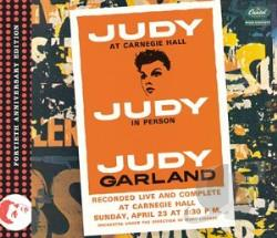 Garland, Judy - Judy at Carnegie Hall CD Cover Art