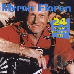 Floren, Myron - 24 Polkas Greatest Hits CD Cover Art