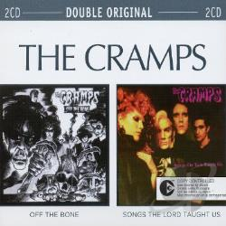 Cramps - Off the Bone/Songs the Lord... CD Cover Art