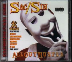Sac/Sin - All Out Hustla CD Cover Art
