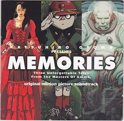 Memories Original Soundtrack CD Cover Art