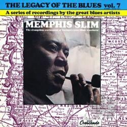 Sunnyland Slim - Legacy Of Blues Vol. 11 LP Cover Art