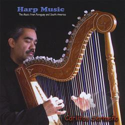 Sermeo, Carlitos - Harp Music CD Cover Art