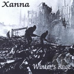 Xanna - Winter's Rage CD Cover Art