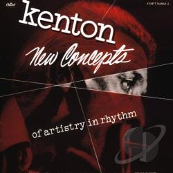 Kenton, Stan - New Concepts of Artistry in Rhythm CD Cover Art