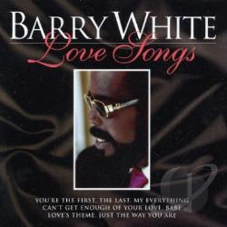 White, Barry - Love Songs CD Cover Art