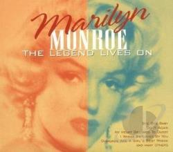 Monroe, Marilyn - Legend Lives On CD Cover Art