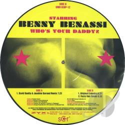 Benassi, Benny - Who's Your Daddy LP Cover Art