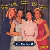 Russell, Jane - Feel the Spirit CD Cover Art