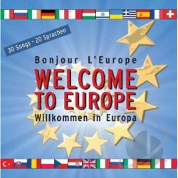Welcome To Europe CD Cover Art
