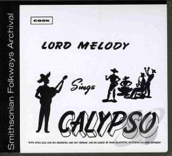Lord, Melody - Lord Melody Sings Calypso CD Cover Art