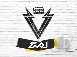 Evol - Second Evolution CD Cover Art