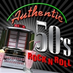 Various Artists - Authentic '50s Rock DB Cover Art