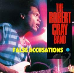 Cray, Robert - False Accusations CD Cover Art