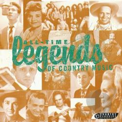 All-Time Legends Of Country Music CD Cover Art