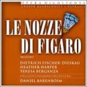 Mozart, Wolfgang Amadeus - Mozart: Marriage Of Figaro / Barenboim, Et Al CD Cover Art