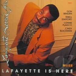 Harris, Lafayette Jr. - Lafayette Is Here CD Cover Art