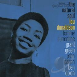 Donaldson, Lou - Natural Soul CD Cover Art